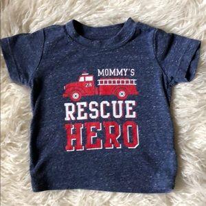 Baby Firefighter Shirt